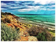 #bellarine #bellarinepeninsula #weekendpic #cliffs #beach #bay #portphillipbay #portarlington #victoria #victorianlandscape #landscape #landscapelovers #landscapephotography #cloudysky #emeraldwaters #australia #visitvictoria #visitaustralia #visitmelbourne by ashiltd http://ift.tt/1KMCQ8M
