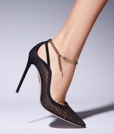 Aquazzura, Stiletto Heels, Pumps, Shoes, Black, Fashion, Elegant, Black People, Moda