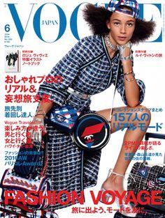 イットモデルビンクスウォルトンがVOGUE JAPAN6月号の表紙モデルに