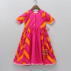 One Piece Dress, New Dress, Girls Kurti, Pink Images, Dresses Kids Girl, Indian Ethnic Wear, Colourful Outfits, Festival Wear, 6 Years