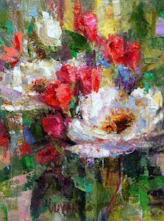Art Talk - Julie Ford Oliver: White Roses