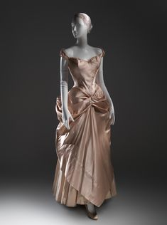 Charles James (American, born Great Britain, 1906–1978). Wedding dress, 1948-49. The Metropolitan Museum of Art, New York. Gift of Jane Love Lee, 1993 (1993.427) #CharlesJames