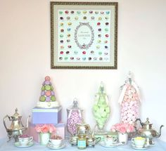Paris-inspired First Birthday Tea Party - so chic and whimsical!