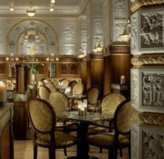 Cafe Imperial in Prague: bucket list for Dec. Beautiful Hotels, Most Beautiful Cities, Italian Bar, Prague Travel, Best Coffee Shop, Prague Czech Republic, Paris Shopping, Europe Photos, Grand Hotel