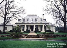 the perfect southern, French Country style home. i can just picture it done up for Christmas