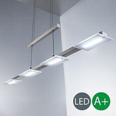Weare Home Retro Platt Durchsichtiger Glas Lampenschirm Pendelleuchten,  Durchmesser 25cm, Höhe 21cm