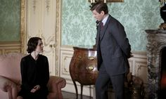 Downton Abbey - Lady Mary (Crawley) Talbot  and her brother-in-law Tom Branson. I love how their relationship developed into that of close siblings, even if it did mean heated arguments. That was just part of the fun.