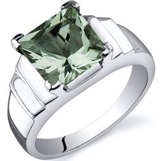 'Genuine Green Amethyst .925 Sterling Silver Ring SZ 5-9' is going up for auction at  6am Tue, Sep 4 with a starting bid of $1.