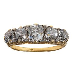 Shop diamond and sapphire band rings and other antique and vintage rings from the world's best jewelry dealers. Antique Rings, Vintage Rings, Antique Jewelry, Vintage Jewelry, Antique Gold, Diamond Jewelry, Gold Jewelry, Jewelery, Jewelry Rings