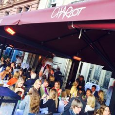 Check out our terrace for lunch and dinner. Perfect for a fun summer ambience! Lunches And Dinners, Terrace, Times Square, Frankfurt Germany, Food Travel, Events, Europe, Action, Italy