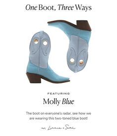 One Boot, Three Ways: Featuring Molly Blue