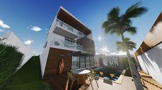 Área de Lazer - Lumion; • Studio Urbano Arquitetura •