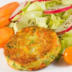 Tortitas de Papa con Verduras Recette - ¡Qué! Gourmet