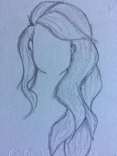 Drawing 5 Drawing 5 – Station Of Colored Hairs Pencil Drawings Of Girls, Pencil Drawing Tutorials, Girl Drawing Sketches, Art Drawings Sketches Simple, Beautiful Drawings, Doodle Drawings, Cute Drawings, Girl Hair Drawing, Painting & Drawing