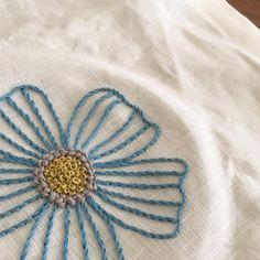 stem stitch embroidery