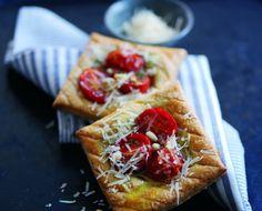 Parmigiano Reggiano and Cherry Tomato Tart