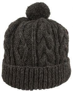 Как вяжется теплая мужская шапка спицами - FB.ru