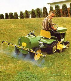 Znalezione obrazy dla zapytania john deere model 5 sprayer Utility Tractor, New Tractor, Tractor Mower, Antique Tractors, Old Tractors, Lawn Tractors, Agriculture Tractor, Farming, Lawn Mower Trailer
