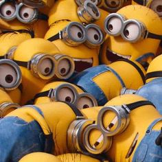 Minions will never go away. Minions are here to stay. We live in a Golden Age of Minions. Will we ever make it to the post-Minions era? Minion Movie, Minion Party, Minions Minions, Minions Quotes, My Minion, Minion Stuff, Movies Box, Despicable Me, Life Lessons