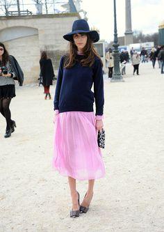 Icono de estilo: Caroline Sieber, estilista y embajadora de Chanel