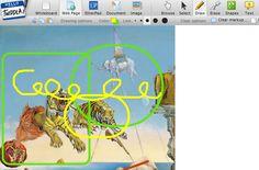 Tülays IKT-sida: Twiddla: Att rita, lägga in bilder och skriva texter direkt på nätet