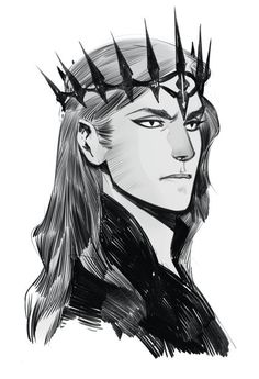 """phobso: """" Some of my bw sketches Characters of my comics and Sauron """" Character Concept, Character Art, Concept Art, Tolkien, Das Silmarillion, Dark Lord, Character Design Inspiration, Thranduil, Comic Artist"""