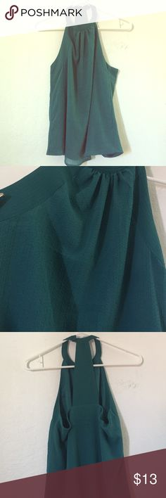 h&m teal t back blouse never worn Tops Blouses