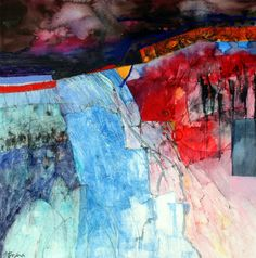 Shirley Trevena: Night Fire in France
