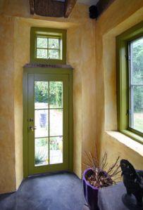 Resultado de imagem para tiny house frame for straw bale Cob Building, Building A House, Papercrete, Interior Architecture, Interior Design, Adobe House, Straw Bale Construction, Tadelakt, Natural Homes