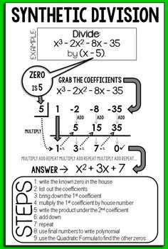 "Today I made a cheat sheet to give to our students tomorrow as we get ready for a polynomials quiz on Thursday and mid-year review next week. The cheat sheet isn't quite a math tutor, but it was helpful for my kids who were struggling. It's a half-sheet so I papercut the sheet in half and hole punch for the kids to put in their binders. You can download it from the ""Freebies!"" section of the sidebar if your kids need a reminder too!"