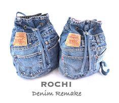 Image Article – Page 691161874044134063 Jean Crafts, Denim Crafts, Denim Furniture, T Shirt Remake, Denim Bag Patterns, Mochila Jeans, Blue Jean Purses, Denim Backpack, Backpack Pattern