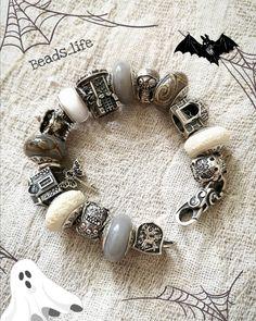 Troll Beads, Bead Jewelry, Crystals And Gemstones, Lampwork Beads, Bali, Jewerly, Pandora, Charmed, Halloween