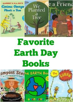 Read a book for Earth Day. Here are some of our favorite choices.