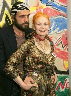 Designerin Vivienne Westwood und Andreas Kronthaler