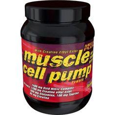 #MUSCLE CELL PUMP 500G,MUSCLE CELL PUMP es una formula revolucionaria que incorpora los principios activos más novedosos para potenciar el crecimiento muscular. La L-arginina alfa-ketoglutarato estimula la producción de óxido nítrico (NO) de manera que los niveles se mantienen estables durante todo el día. 34,65€. todastuscompras.com
