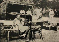 Lilya Brik and Vladimir Mayakovsky. Crimea, 1926