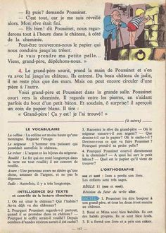 Manuels anciens: Tranchart, Levert, Rognoni, Bien lire et comprendre Cours élémentaire (1963) : grandes images French Learning Books, Teaching French, English Story Books, French Grammar, Learn French, Comprehension, Thing 1, Teaching Resources, Storytelling