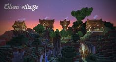 elven town minecraft - Google Search