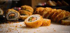 Crispy Deep Fried Sushi Roll
