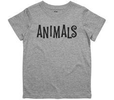 El Cheapo Animals (Black) Toddler Grey Marle T-Shirt