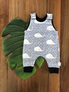 Navy Whale Romper Easy Wear, Whale, Rompers, Navy, Knitting, Cotton, Kids, How To Wear, Clothes