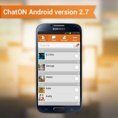 The Brand New ChatON! ChatON Android version 2.7 is released!   Try useful features such as 9 languages translation and automatic message backup.   Check out other incredible updated feature on ChatON.   ChatON Android 2.7버전이 6월 11일 오픈되었다는 기쁜 소식입니다.  ChatON Android 2.7버전의 주요 기능인 9개의 언어 번역 및 자동 백업 등 유용한 기능을 이용해 보세요. 새로운 기능들이 궁금하다면, 지금 바로 업데이트!