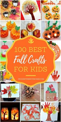 100 Best Fall Crafts for Kids 100 Best Fall Crafts for Kids 100 Best Fall Crafts for Kids Celebrate the change of the season with these fun fall crafts for kids. These craft ideas include fall leaves, apples, scarecrows, pumpkins and more! Arts And Crafts Movement, Fall Arts And Crafts, Easy Fall Crafts, Fall Diy, Easy Crafts, Creative Crafts, Fall Crafts For Toddlers, Toddler Crafts, Diy For Kids
