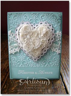 Card by Connie Collins, www.ConstantlyStamping.com, Artisan Blog Hop - Day 1