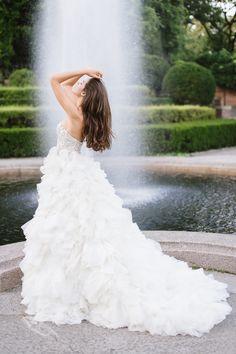 6aab7c7a7ea LOVE THIS DRESS!! Enaura Bridal   Blossom Veils