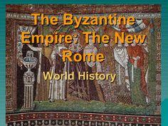 The Byzantine Empire by AMSimpson via slideshare