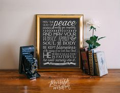 Bible Verse chalkboard subway art printable by PrintableWisdom
