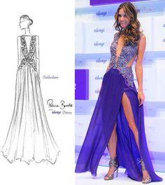 Alessandra Ambrósio e outras famosas no lançamento de Always Platinum Collection...http://www.sacadafashion.com.br/aways-faz-noite-glamourosa-para-lancar-novo-produto/