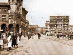 edificio-la-polar-construccion. El primero después del incendio de Santander de 1941