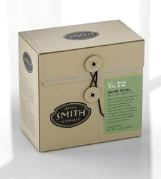 White Petal Tea Box - 15 Bags   Steven Smith Tea